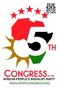 Reporte Político al Quinto Congreso del Partido Socialista del Pueblo Africano